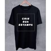 Camiseta Preta Personalizada