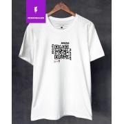 Camiseta QR Code Personalizável