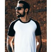 Camiseta Raglan 70's Black