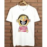 Camiseta Smile Cartum