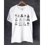 Camiseta Coletânea - Strip Me + Adão