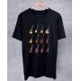 Camiseta Guitarras Icônicas