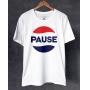 Camiseta Pause