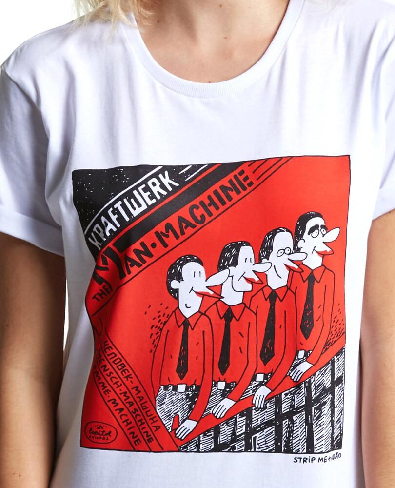 fb610ce686 Camiseta Kraftwerk STM + Adão - STM