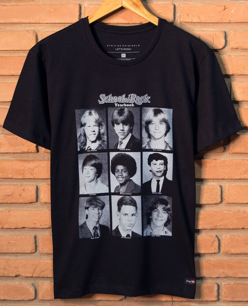 5bf42859eb Camiseta School of Rock