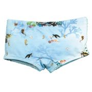 Sunga Boxer Guarda Sol FPS 50 Estampa Digital Tartaruga BY BIBE