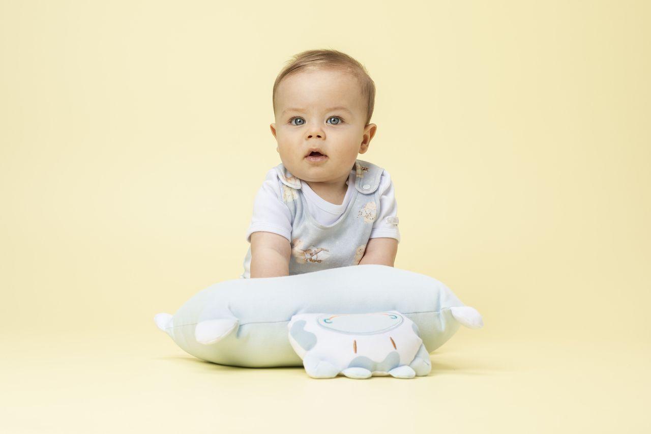 Almofada Travesseiro Amiguinho de Berço Mumu