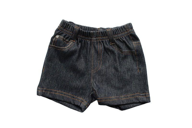 Bermuda Jeans Masculina Trompe L'oeil