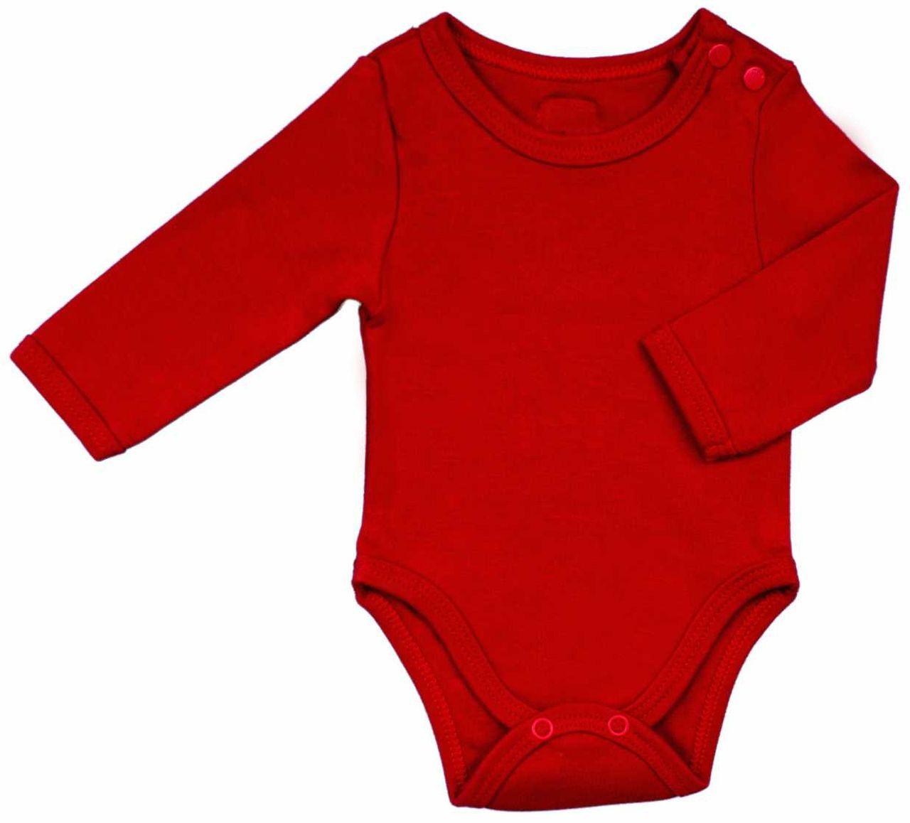 BODY INFANTIL BÁSICO LISO MANGA LONGA BOTÃO NO OMBRO 100% ALGODÃO EGÍPCIO