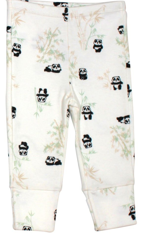 Calça Básica Estampa Pandas