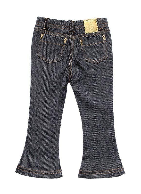 Calça jeans Feminina Flair Infantil Comfort Denim Infantil