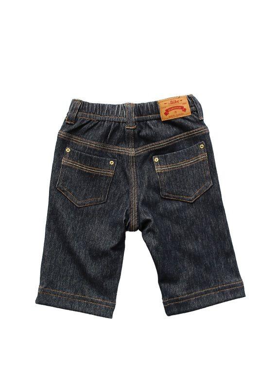 Calça Jeans Unissex Com Abotoamento.