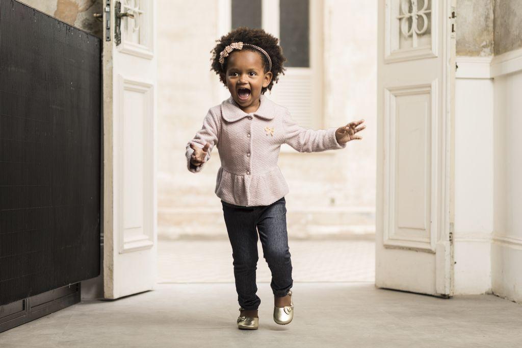 Calça Skinny Jeans Blue Infantil Feminino