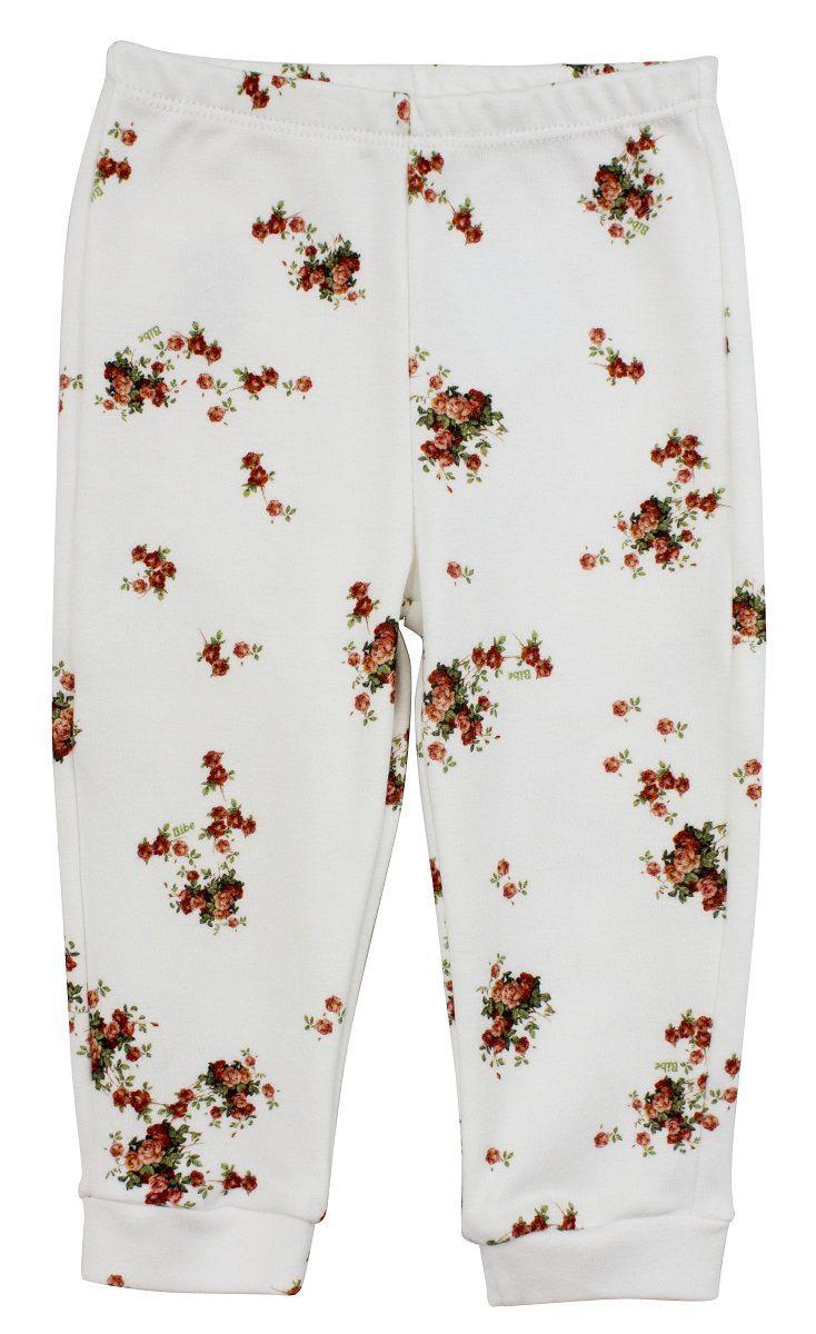 Calça Menina Floral Liberty 100% Algodão Egípcio