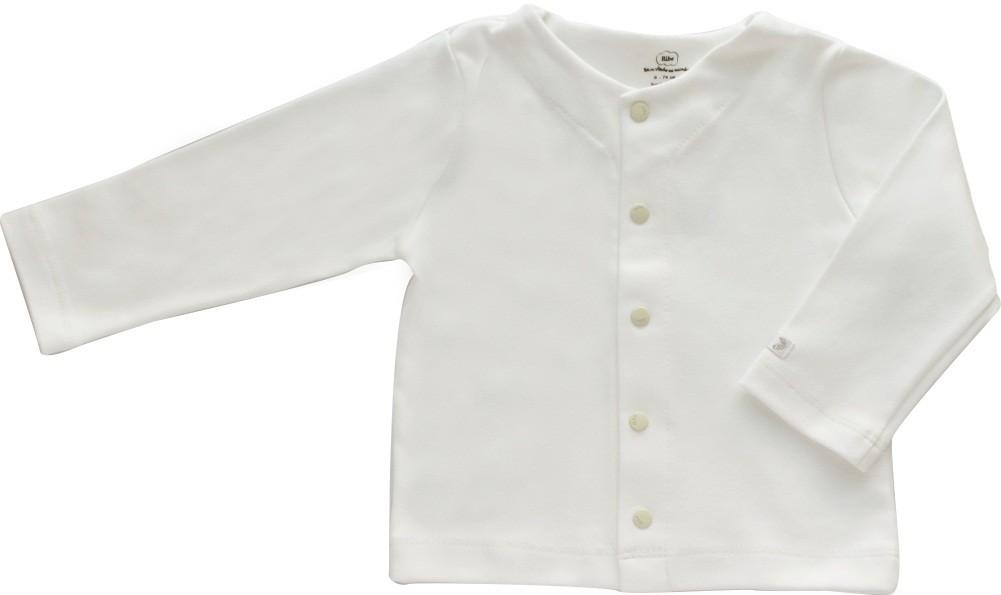 Casaco Básico Aberto na frente 100% Algodão Infantil BY BIBE