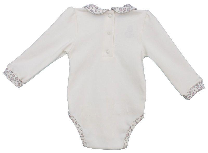 Conjunto Menina Manga Longa Body + Calça Algodão Egípcio Baby Onça