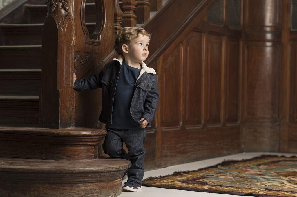 Jaqueta Jeans Masculina Comfort Denim Bebê