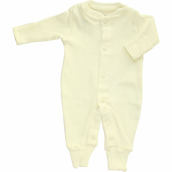 Macacão Bebê Básico Prematuro Suedine 100% Algodão BY BIBE