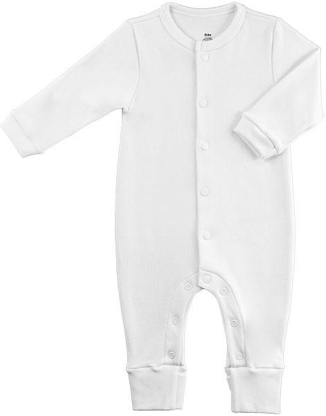 Macacão Bebê Básico Suedine 100% Algodão Egípcio BY BIBE