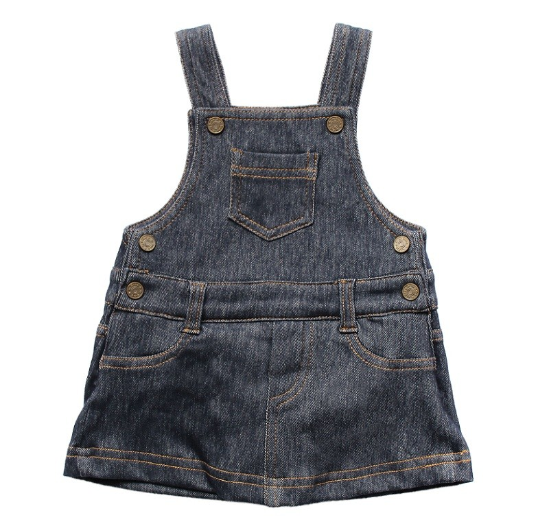 Salopete Jeans Feminina Comfort Denim Bebê