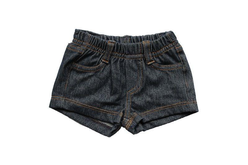 Short Jeans Feminino Comfort Denim Bebê