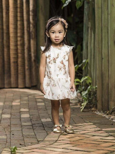 Vestido Feminino Balone Travessuras Infantil