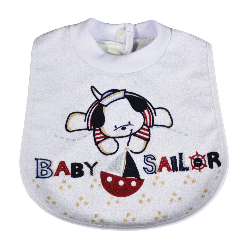 BABADOR ESTAMPADO BABY SAILOR