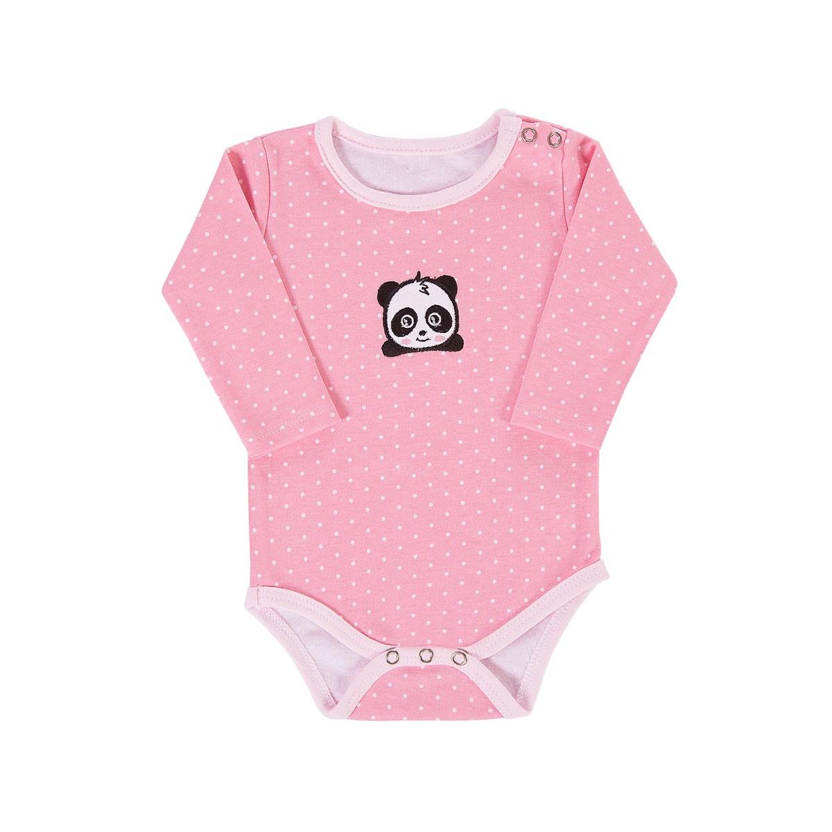 BABY KIT SOLZINHO PANDA ROSA