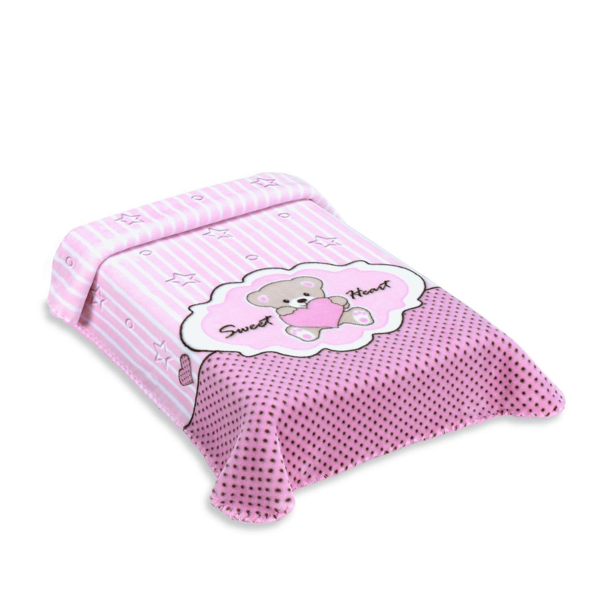COBERTOR EXCLUSIVE ESTAMPADO SWEET