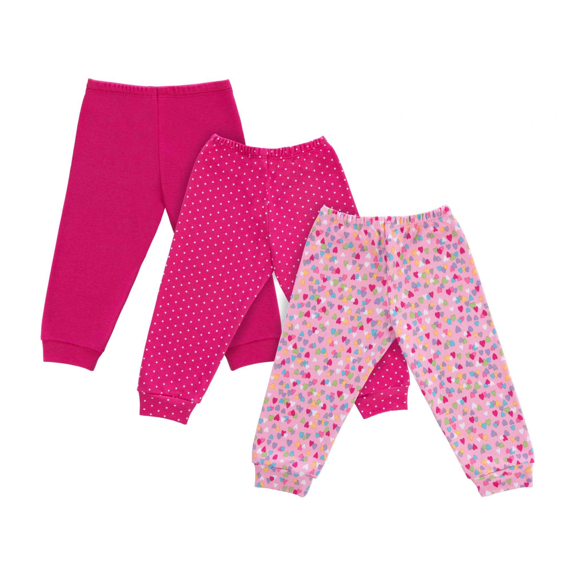Kit 3 Mijão Pink