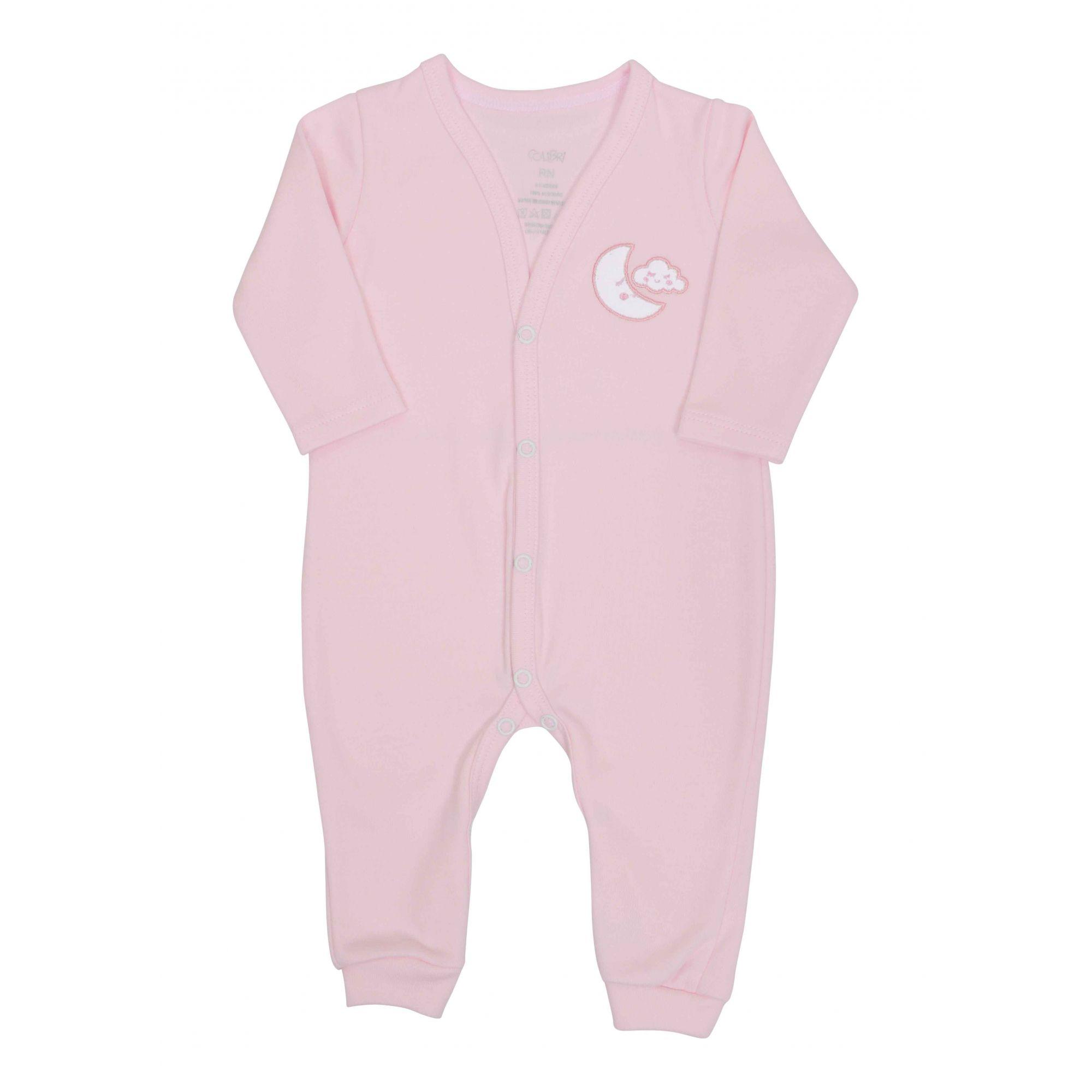 Kit Pijama 2 Macacões Rosa