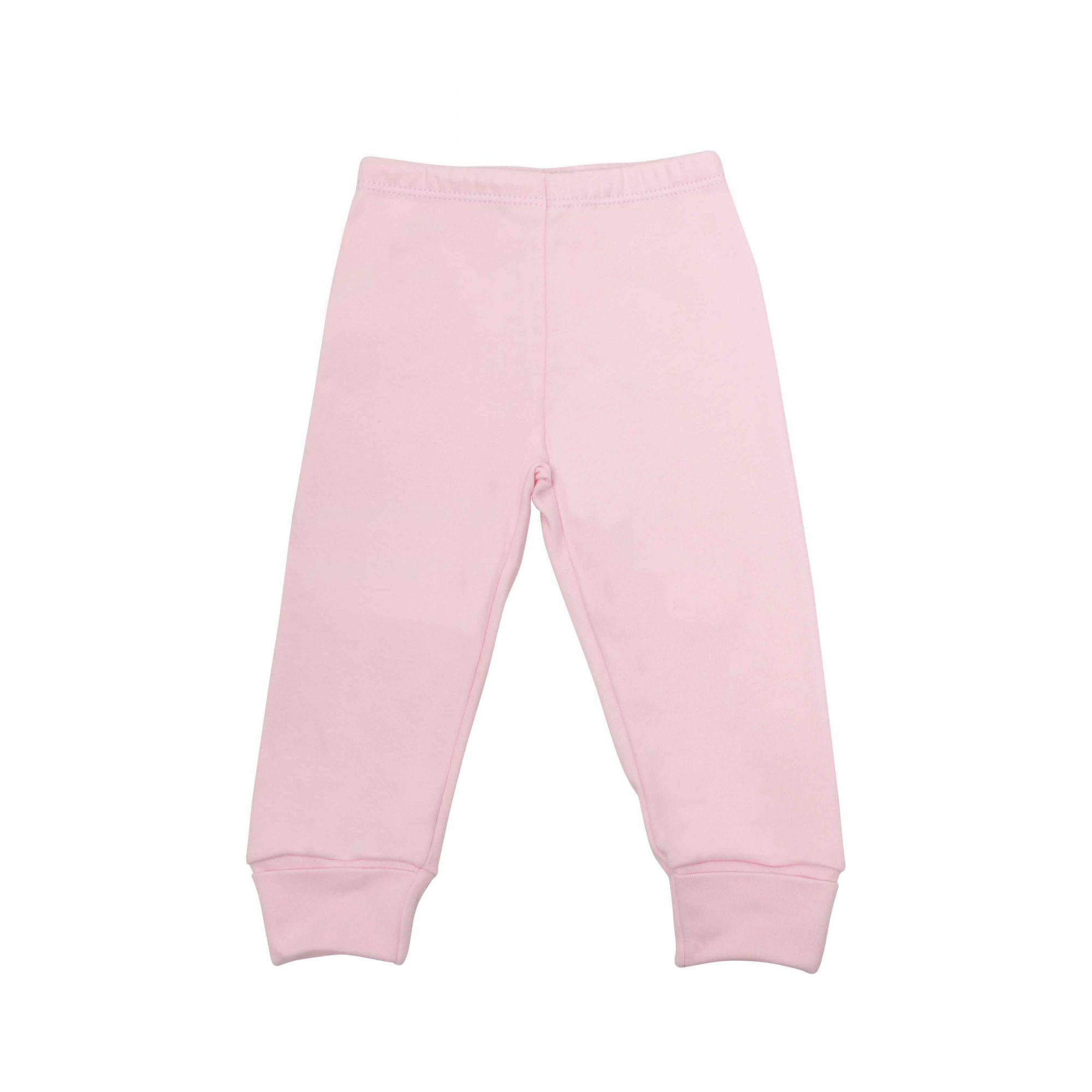 Kit Pijama Body Manga Longa e Calça Rosa
