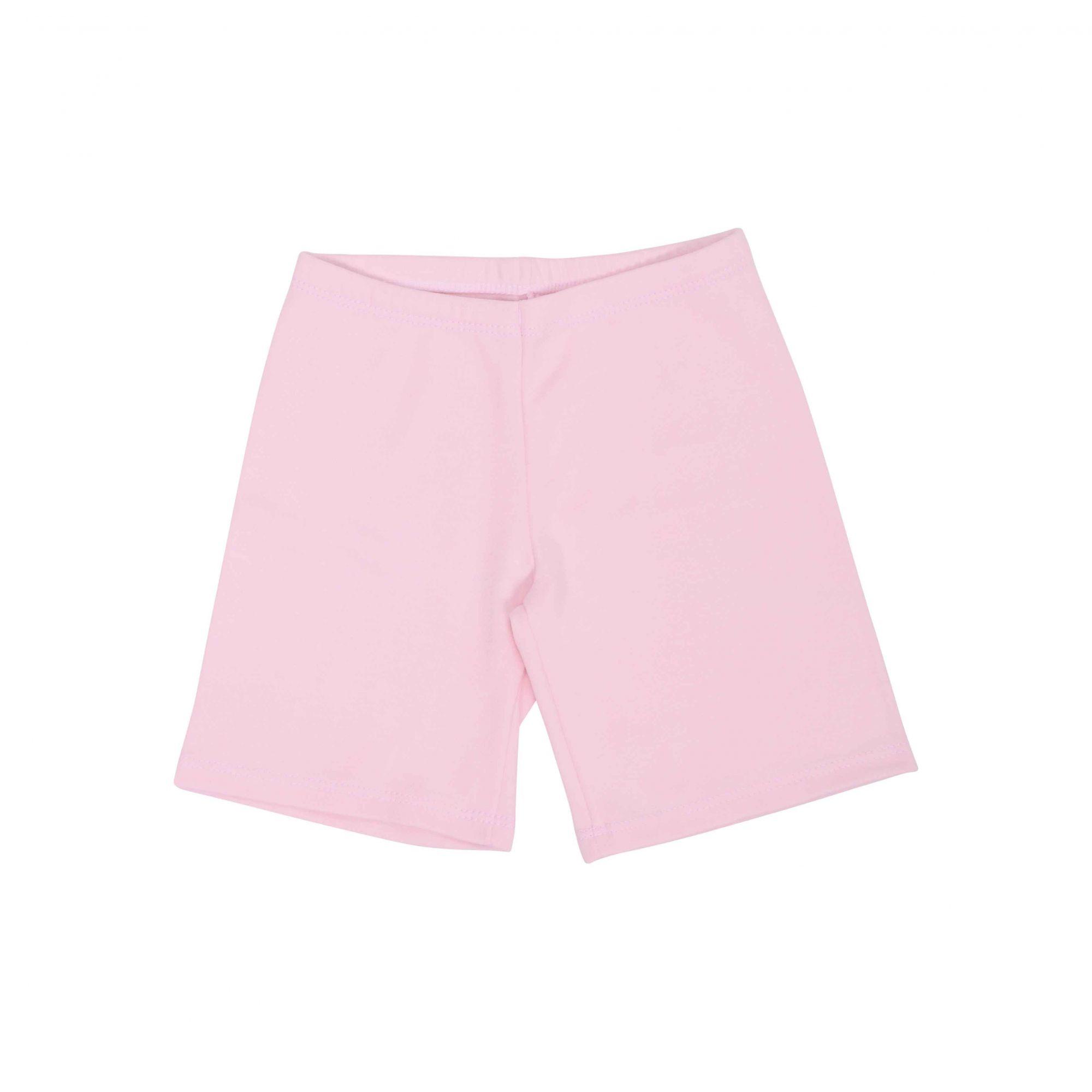 Kit Pijama Camiseta Manga Curta e Bermuda Rosa