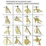 Kit Contendo 30 Gargantilhas + Pingentes Folheados
