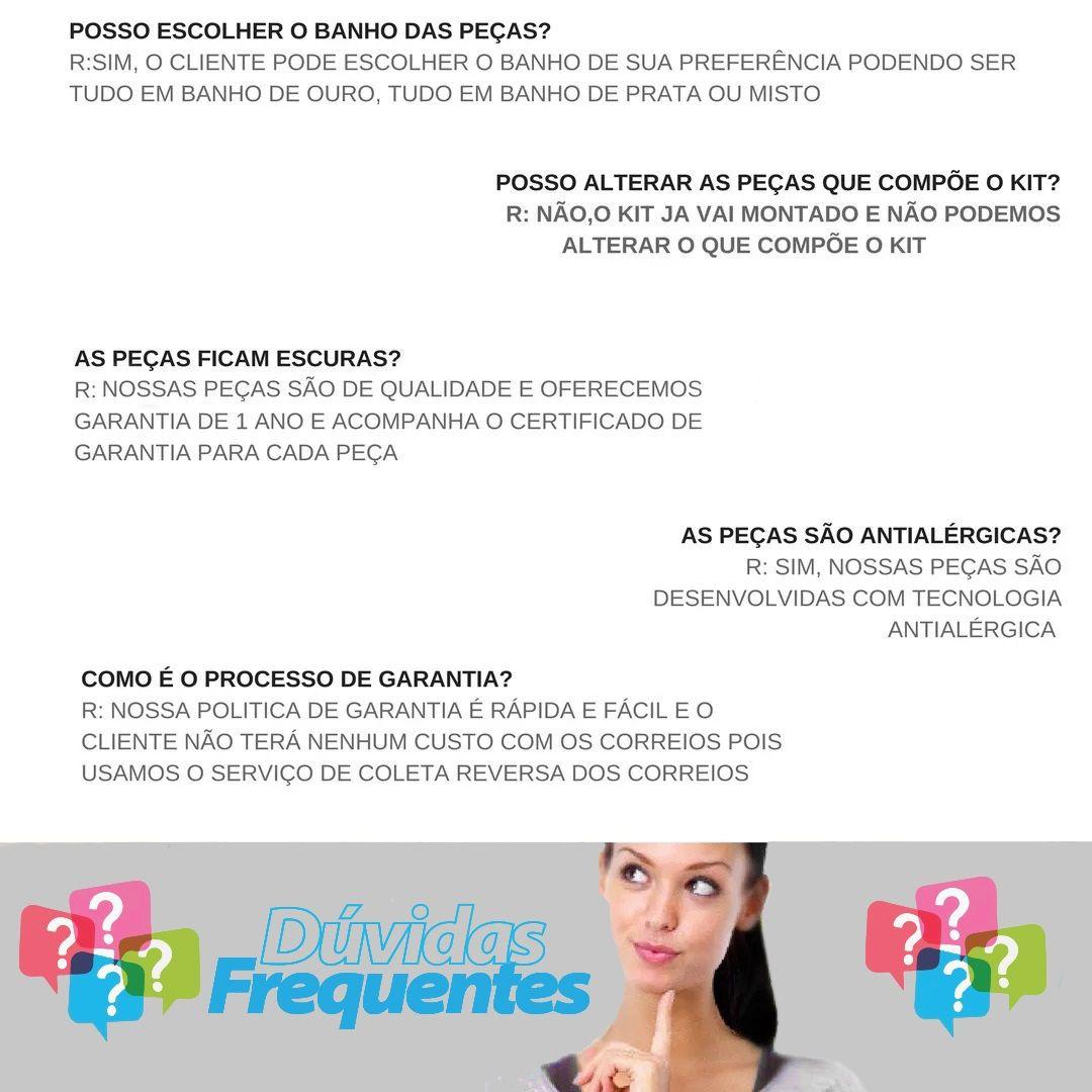 Joias Folheadas Kit Mostruário+130 Peças Atacado P/ Revenda