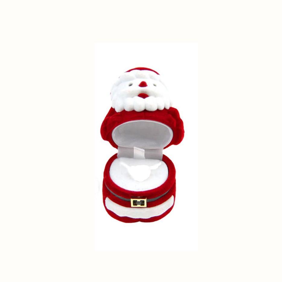 Porta Joia Formato Papai Noel para Anel