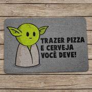 Capacho Ecológico DrPepper Mestre Mini Yoda
