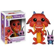 Funko POP Disney Mulan - Mushu & Cricket