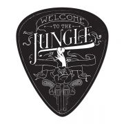 Placa de parede Palheta Welcome to the Jungle