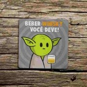 Porta Copo Ecológico Imã DrPepper MiniOda - Whisky