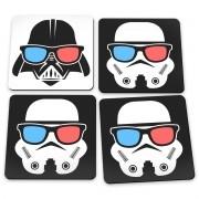 Porta Copos Star Wars Geek Side