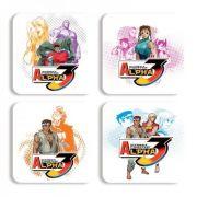 Porta Copos Street Fighter Personagens B Alpha 3