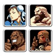 Porta Copos Street Fighter Personagens D II HD Remix