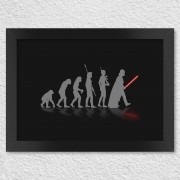 Poster com Moldura Geek Evolution