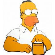 Quadro Homer Simpsons - Pensativo