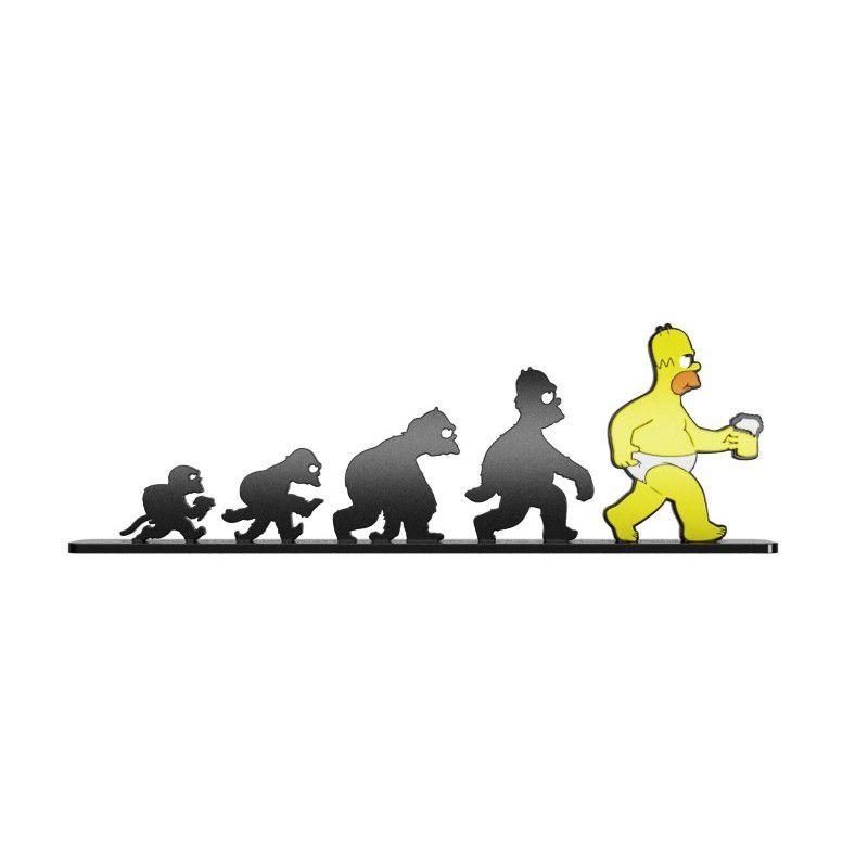 Adorno Evolução Homer Simpson