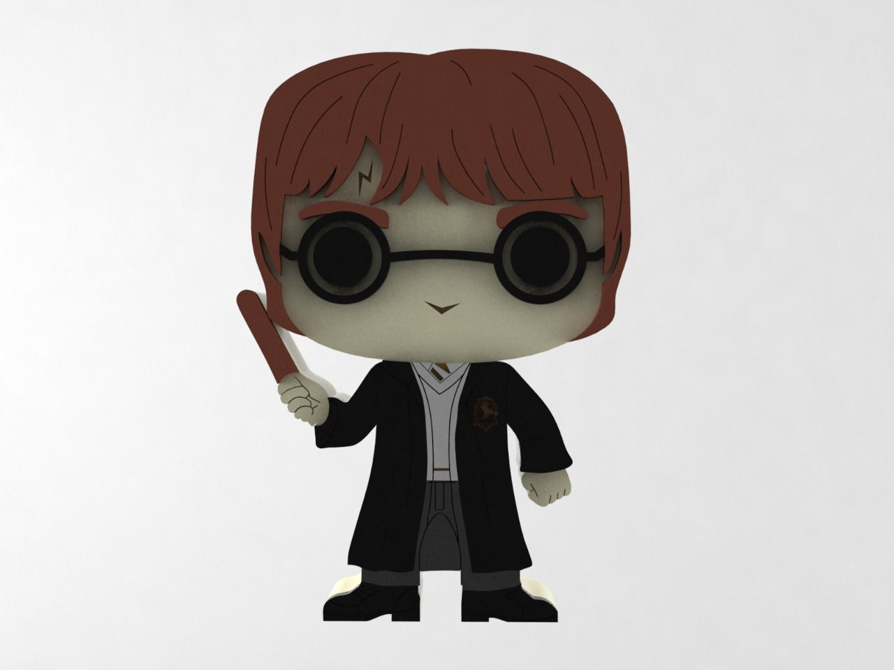 Boneco Harry Potter MDF