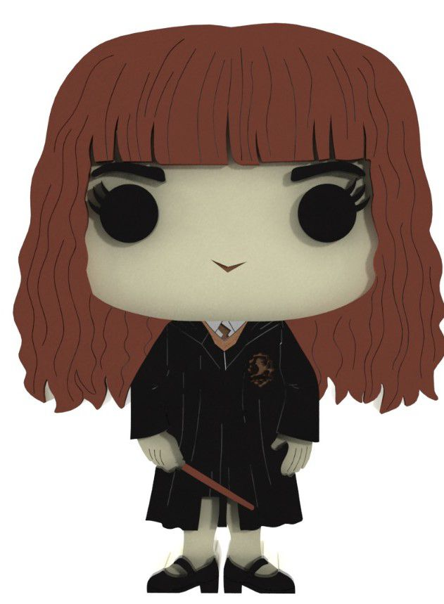 Boneco Hermione Harry Potter MDF
