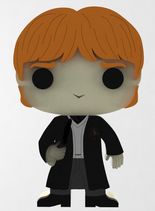 Boneco Ron Harry Potter
