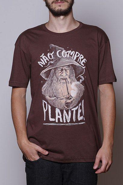 Camiseta Não Compre, Plante